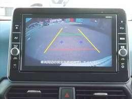 バックビューモニターもついています!車庫入れ時や後退時の後方確認には欠かせません!!