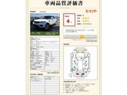 第3者機関による、車両査定実施済み。