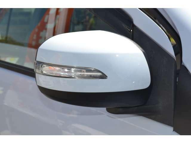 ウィンカーミラーで夜間の走行では、周囲への視認性アップ、更に車両のドレスアップ効果もあります!