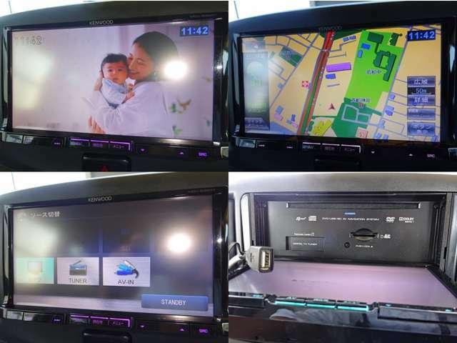 SDナビ装着♪ DVD再生、ミュージックサーバー(SDカード)、フルセグTV、USB接続可能です☆彡