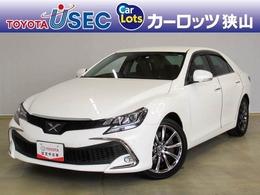 トヨタ マークX 3.5 350RDS セーフティセンス 純正SDナビ ETC
