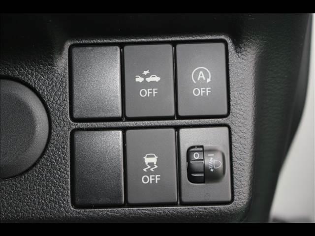 横滑り防止装置 アイドリングストップ機能付き!