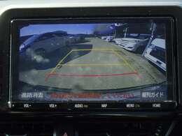 【バックカメラ付き】 自宅の車庫入れも外出先の慣れない駐車場でも安心です(*'∀')