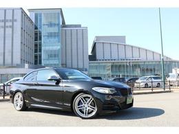 BMW 2シリーズクーペ M235i 6速MT/ガラスサンルーフ/社外地デジ