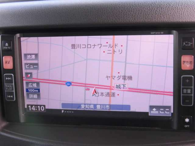 純正メモリーナビMP310-W