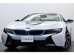 BMW i8ロードスター ベースモデル 有償色 白革 グレー幌 SSR20インチアルミ