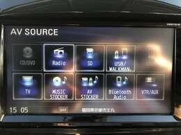 フルセグTVや音楽録音機能等オーディオ装備も充実