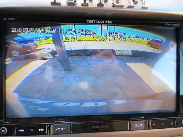 バックカメラ、クリアランスソナー完備!安心して駐車出来ます。