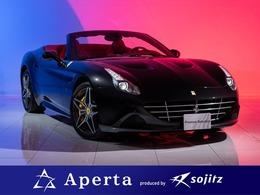 フェラーリ カリフォルニアT F1 DCT 正規D車赤革LEDセブンイヤープログラ厶有
