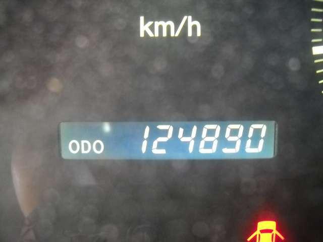 走行124000KM