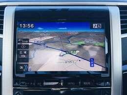【 9型ナビゲーション 】ナビゲーションシステム装備なので不慣れな場所へのドライブも快適にして頂けます♪