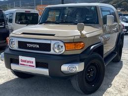 トヨタ FJクルーザー 4.0 4WD ワンオーナー ユーザー買取 禁煙車