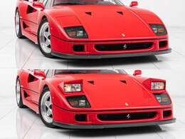 エンツォ・フェラーリが最後に手掛けたモデル。V型8気筒にツインターボをその躰に宿し、最大出力は478ps、最大速度は320km/hをマークします。