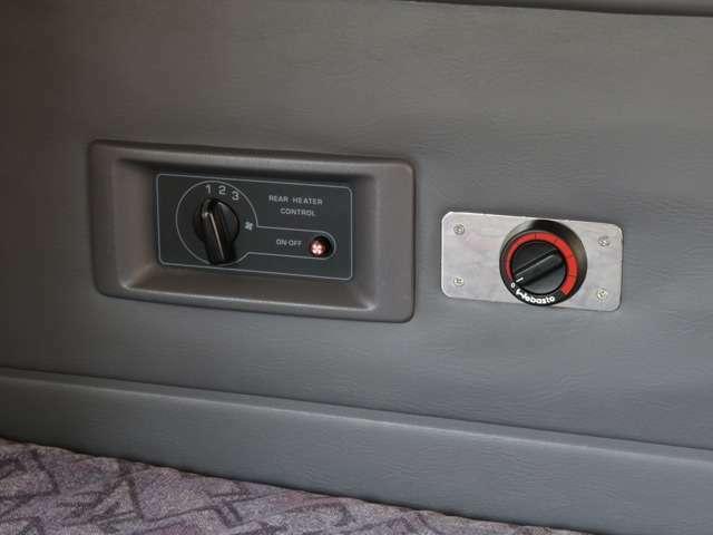 べバスト製FFヒーター!ガソリンを燃料として車内を暖めます!