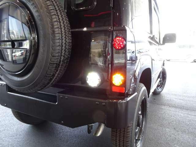ヘッドライト以外の各ランプ類は全てLED式に変更!
