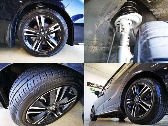 純正高品質オプション 無限サス&ショック装備 タイヤも 下回りも問題無