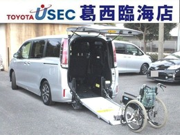 トヨタ エスクァイア 2.0 Xi ウェルキャブ スロープタイプ タイプII サードシート付 TSSC 電動スロープ 電動ウィンチ