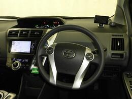 ドライバー目線の画像です。視界も確保されているので、見やすいですよ