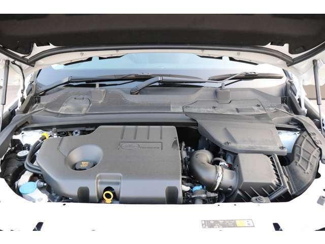 2.0リッターTD4ディーゼルターボチャージドエンジン(180PS)