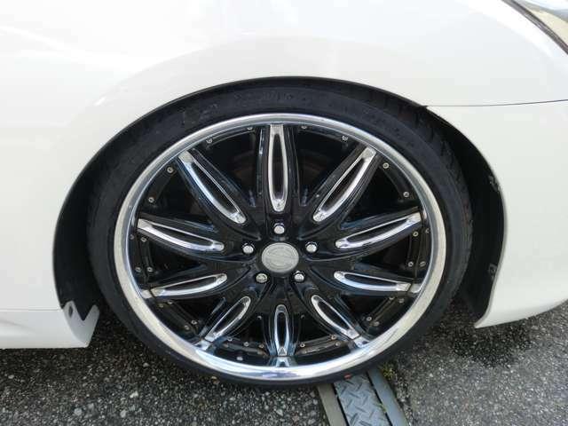 ワークRUSTTGRE8.5J-20新品タイヤ