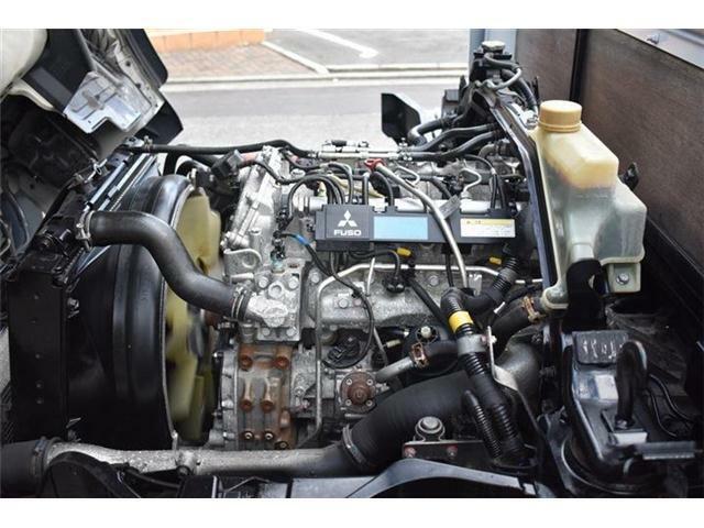 ■エンジン良好 ディーゼルターボのエンジンで、キャンターが良く走ります■ミッション、電気系も問題ございません■