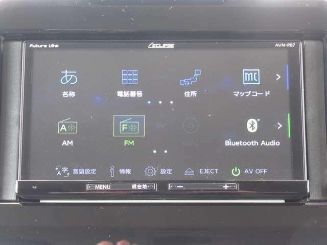 ECLIPSE製SDナビ!DVD再生、Bluetooth接続できます!