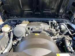 パワフル2.2リッター・ディ-ゼルターボエンジン