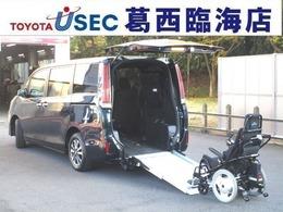 トヨタ エスクァイア 2.0 Xi ウェルキャブ スロープタイプ タイプIII 電動ウェルチェア+ワンタッチ固定仕様 TSSC 手動スロープ 専用車いす