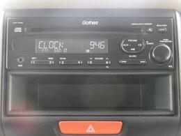 純正CDオーディオ搭載♪AUX端子も付いています。