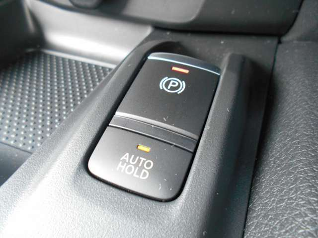 オートブレーキホールド!信号待ちなどでブレーキを離しても停車を維持してくれます!