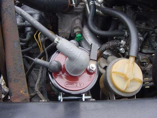純正機械式燃料ポンプ、プラグ、プラグコード、GTコイル、新品交換済み!!