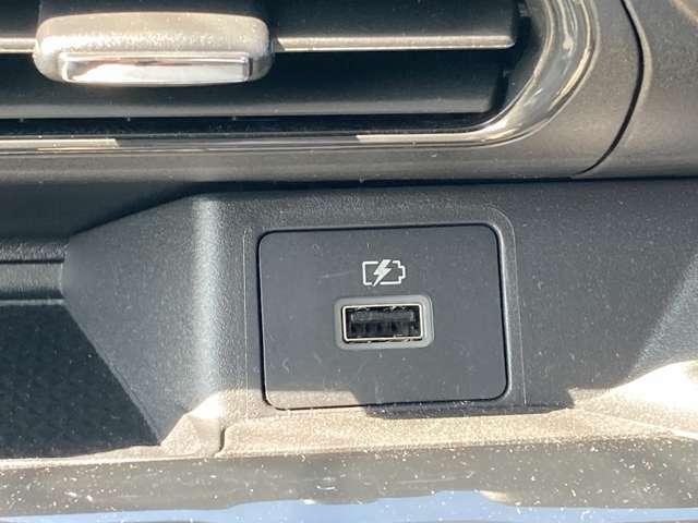 USBプラグでスマホの充電できますよ!