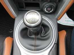 スポーツカーといえば、6速マニュアルミッションモデル♪ シフトも軽く、楽しく運転できます♪