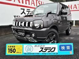 スズキ ジムニー 660 クロスアドベンチャー 4WD 社外メモリーナビ+ワンセグTV