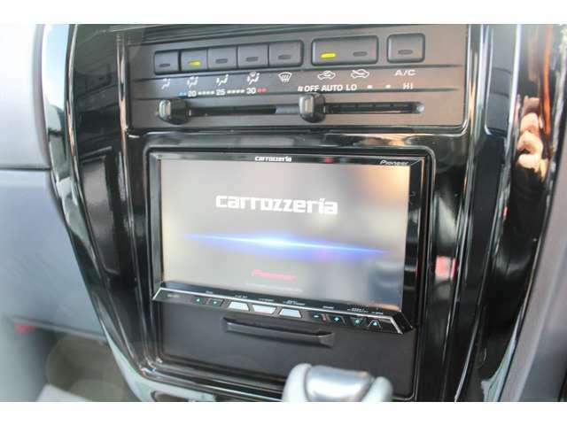 ◆【Carrozerria】HDDナビ 地デジTV(フルセグ) DVDビデオ再生 ミュージックサーバー Bluethooth カラーバックカメラ
