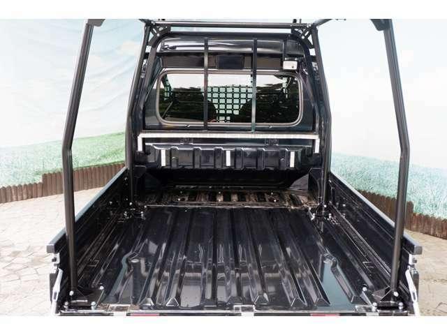 『HARD CARGO仕様 スーパーキャリイX4WD』を制作しました!HARD CARGOゲート!荷台+300mmの余裕!ワイドに使えるゲート取付け可能です☆