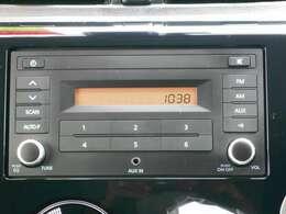 CDチューナーで運転中も音楽などを楽しむ事が出来ます。