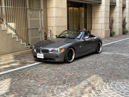 BMW Z4 ロードスター2.2i 保証付・19AW・Pナビ・ETC・オープンカー