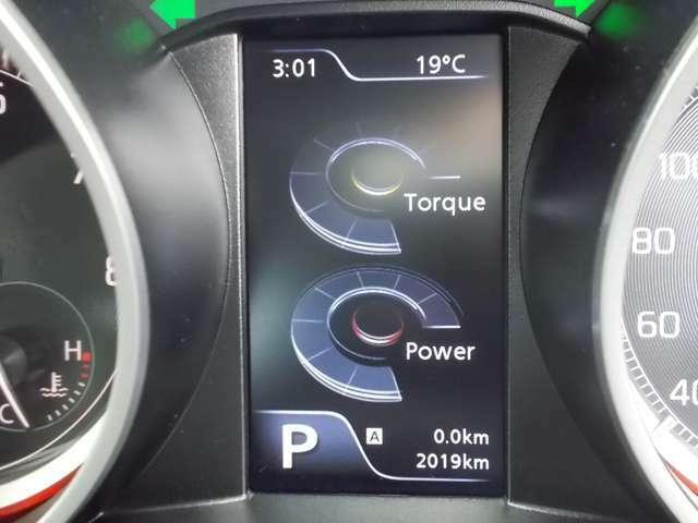 マルチインフォメーションディスプレイ☆ディスプレイには平均燃費/航続可能距離/瞬間燃費/平均車速/時計/外気温計/オドメーター/トリップメーターなど表示できます☆