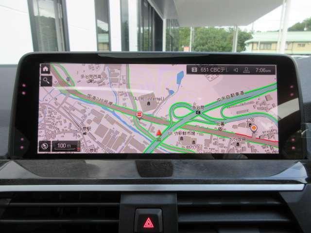 タッチパネル式のナビゲーションシステムで簡単操作可能です!