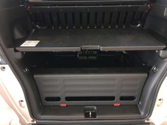 ボードを使って荷物も色々積みやすいです!