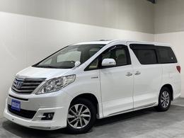 トヨタ アルファードハイブリッド 2.4 X 4WD サンルーフ 両側電動スラドア エアロ