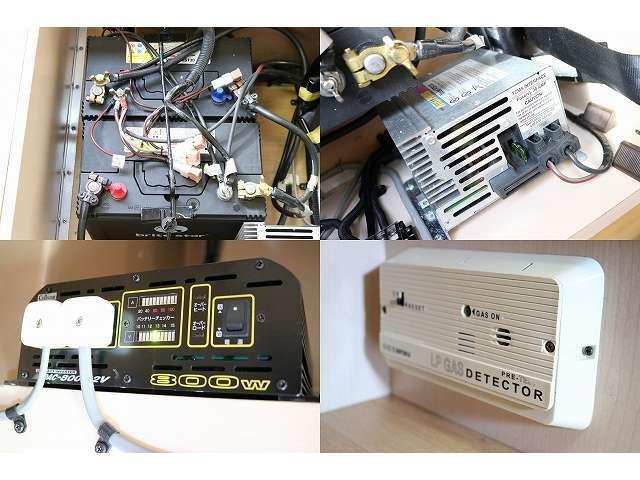 800Wインバーター 2サブバッテリー 外部充電