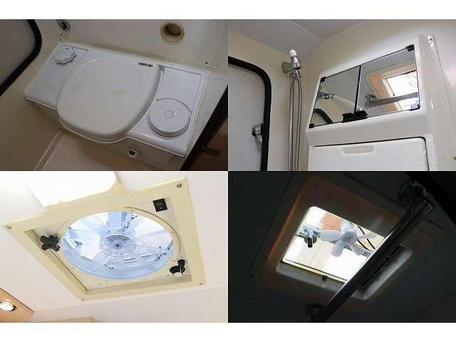 マルチルーム カセット式トイレ シャワー付き