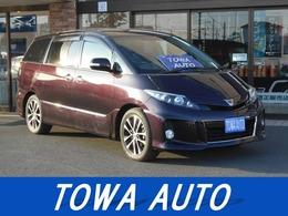 トヨタ エスティマ 2.4 アエラス 20thアニバーサリーエディション サンルーフ 両側パワスラ ナビ ETC