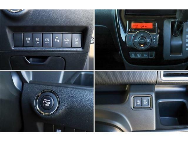 スマートキー☆プッシュスタートストップボタン☆カギをポケットに入れたままエンジンスタート可能☆スライドドアの開閉スイッチもスマートキーについています♪