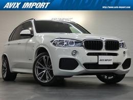 BMW X5 xドライブ 35d Mスポーツ 4WD セレクトPKG 7人乗り パノラマSR 黒革