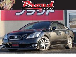 トヨタ クラウンアスリート 2.5 ナビパッケージ HKS車高調/J-UNITマフラーエアロ/クルコン
