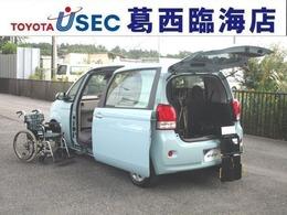 トヨタ ポルテ 1.5 X ウェルキャブ 助手席回転チルトシート車 Bタイプ TSS スマートキー 左側パワードア