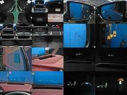 ★リヤシートエンターテイメントシステム(j後席用11.6インチディスプレイ<左右>、Blu-rayディスクプレーヤ、micro SDカードスロット、HDMI端子)★前後ドライブレコーダー(後モニタ付)